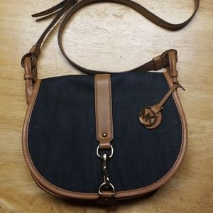 MK Saddle Crossbody